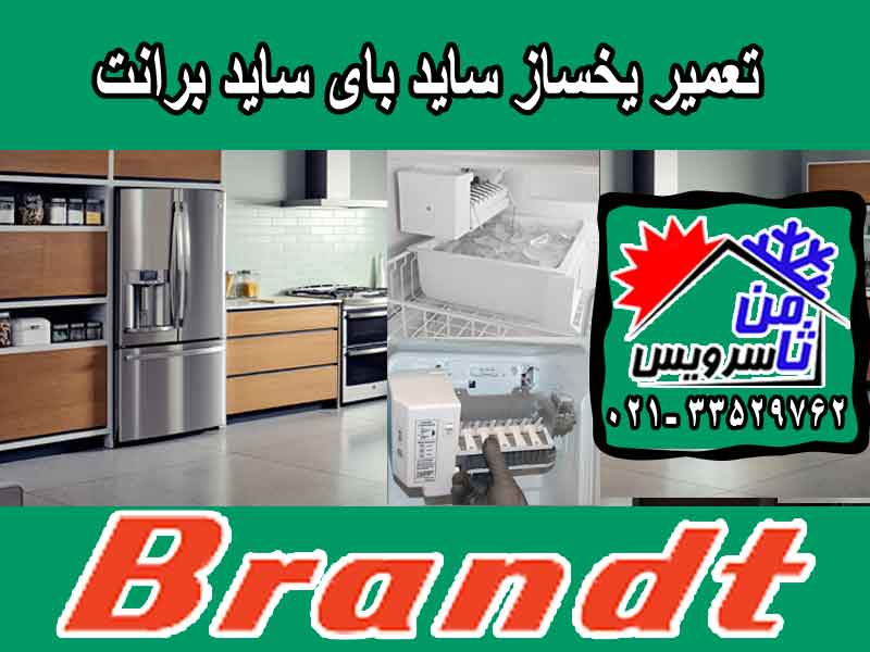 Brandt side by side ice maker repair in Tehran & Mashhad