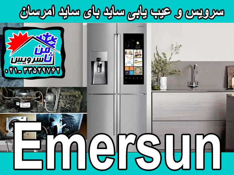 Emersun side by side trouble shooting & service at home in Tehran & Mashhad