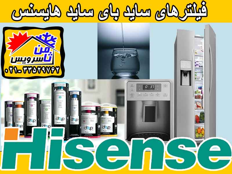 Hisense side by side water filter sell,buy & replacement